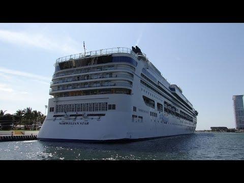 Puerto Vallarta, Mexico - Norwegian Star Docked HD (2014)