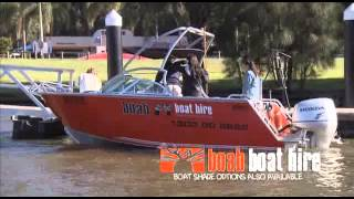 Your mate with a boat! Boab Boat Hire