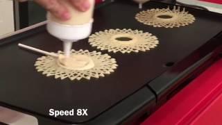 Spiral Pancake Lollipops With PancakeBot