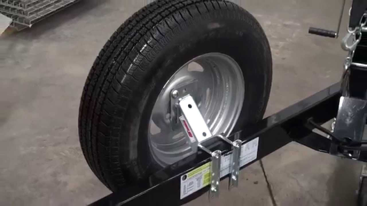 Extreme Max Economy Spare Tire Carrier Youtube