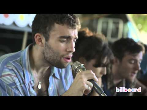 """LIttle Green Cars """"The Consequences Of Not Sleeping"""" Live Acoustic at Lollapalooza 2013"""