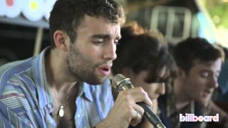 LIttle Green Cars The Consequences Of Not Sleeping Live Acoustic At Lollapalooza 2013