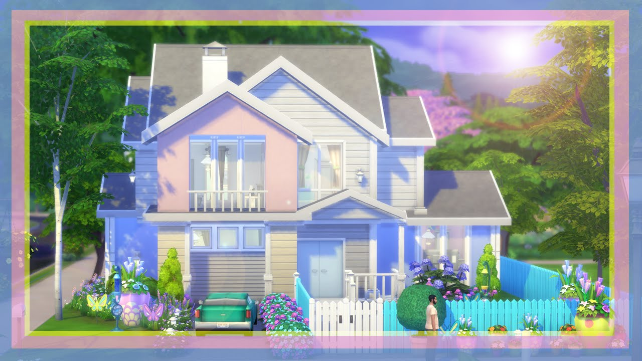 The sims 4 speed build the morrison 39 s dream home youtube for Dream house builder