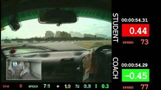 Coaches Corner #002 - Ghost Comparison with Live Timeslip - Donington Park GP