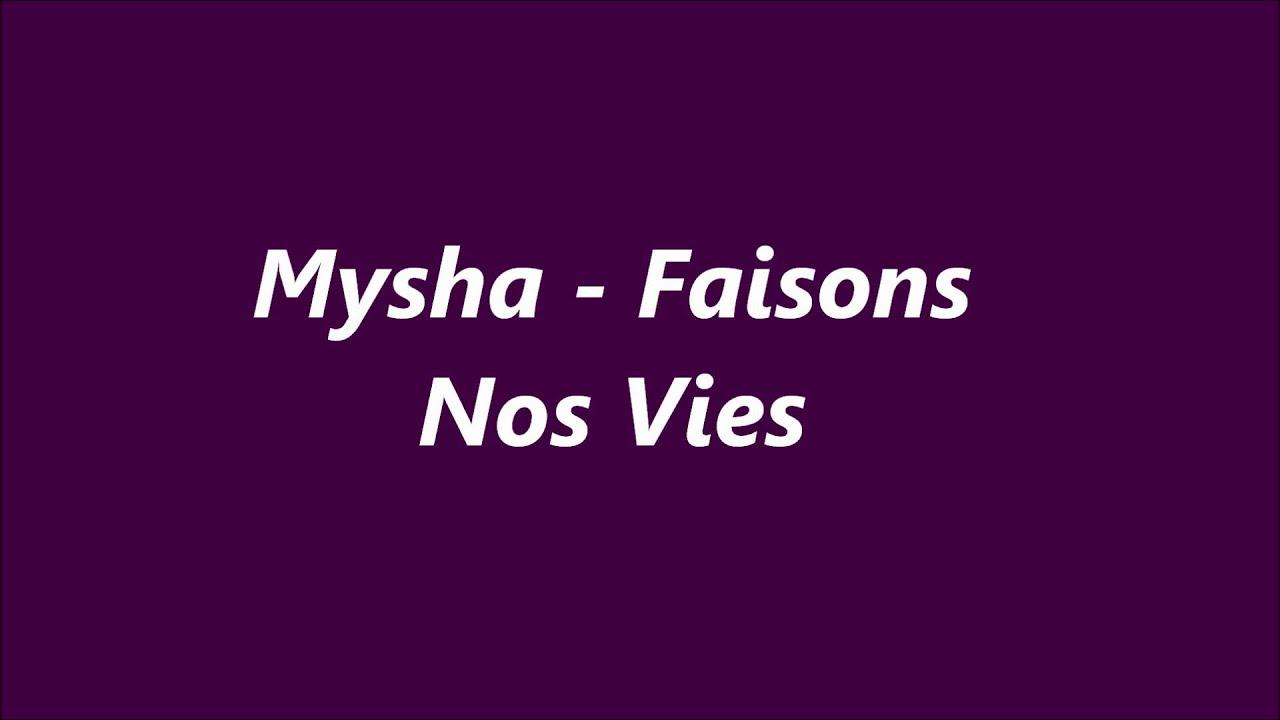 mysha pardonnez moi