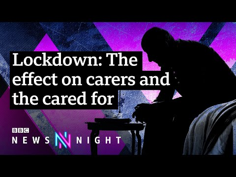 The impact of coronavirus on those with dementia and their carers - BBC Newsnight