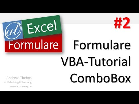 Vba excel combobox 2 колонки - 45