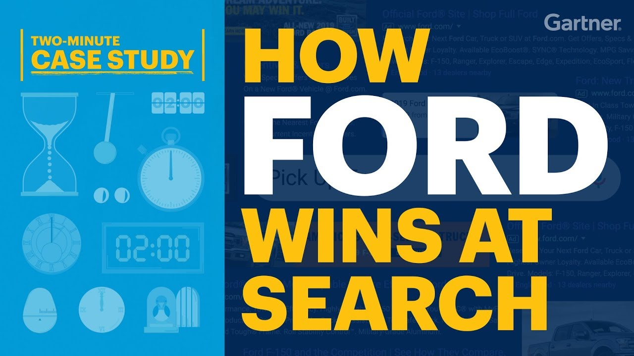 Two-Minute Case Study - How Ford Wins At Search