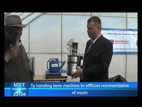Nové Agrocentrum učí hospodařit 200 Mongolů