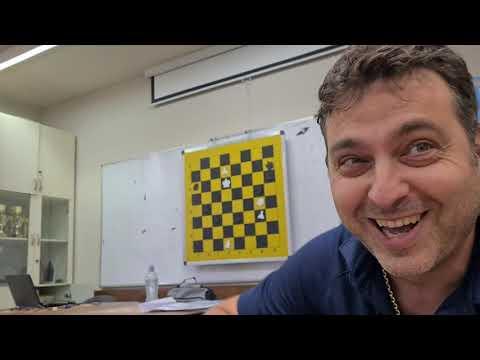 Chess Instructors Ceremony Netanya September 2021