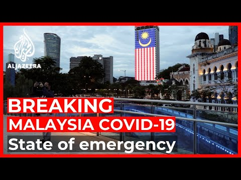 At COVID-19 'breaking point', Malaysia suspends parliament