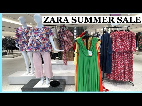 ZARA Huge Summer Sale Collection 2019  Zara Dresses And Shoes Women's Fashion