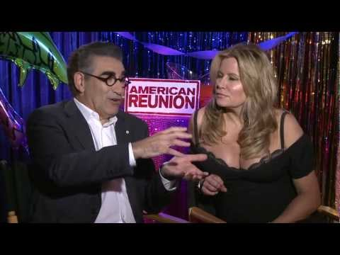Jim's Dad Eugene Levy and Stifler's mom Jennifer Coolidge talk 'American Reunion'