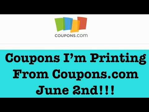 Coupons to Print from Coupons.com for Extreme Couponing |June 2|