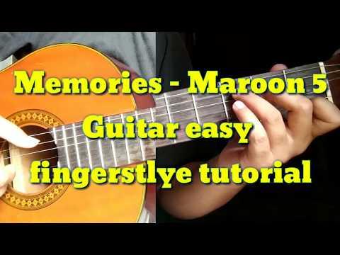 memories---maroon-5-||-guitar-easy-fingerstyle-tutorial
