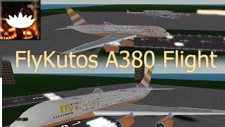 ROBLOX | FlyKutos INAUGURAL A380 FLIGHT