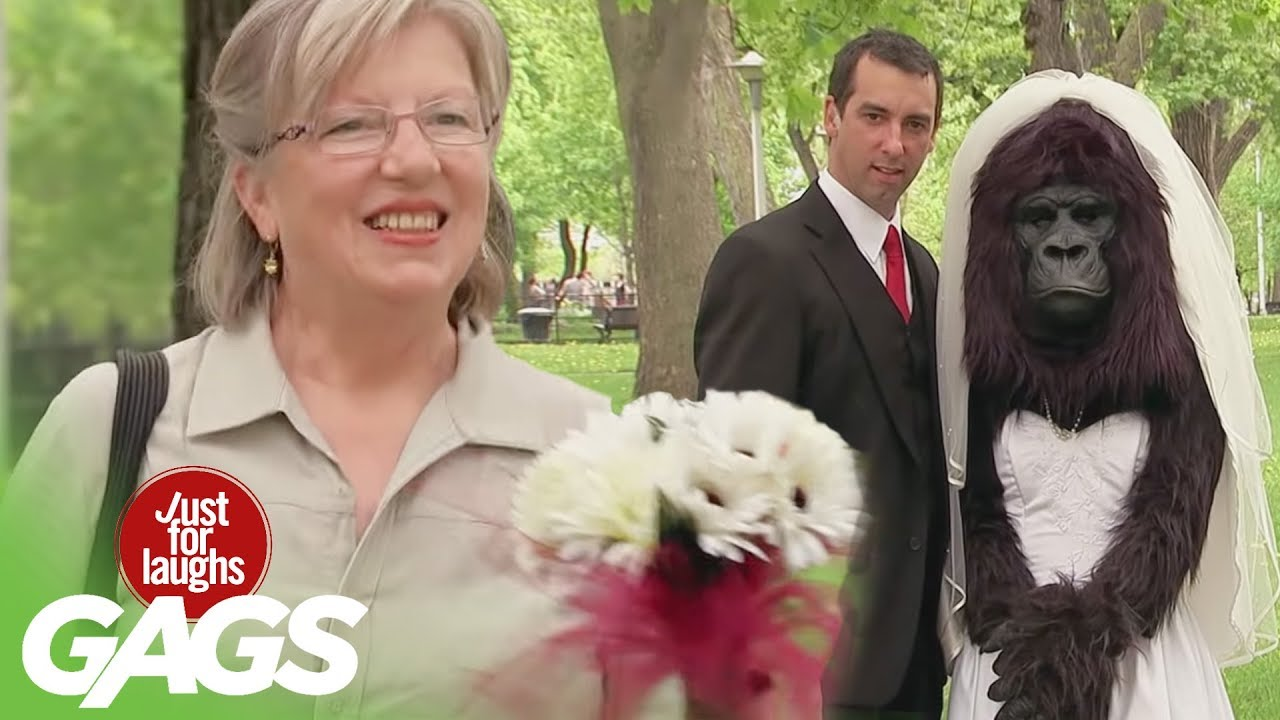 GORILLA Bride Prank | Throwback Thursday