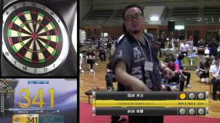 CLIMAX OF DARTS vol.13 プレミアメンズ決勝