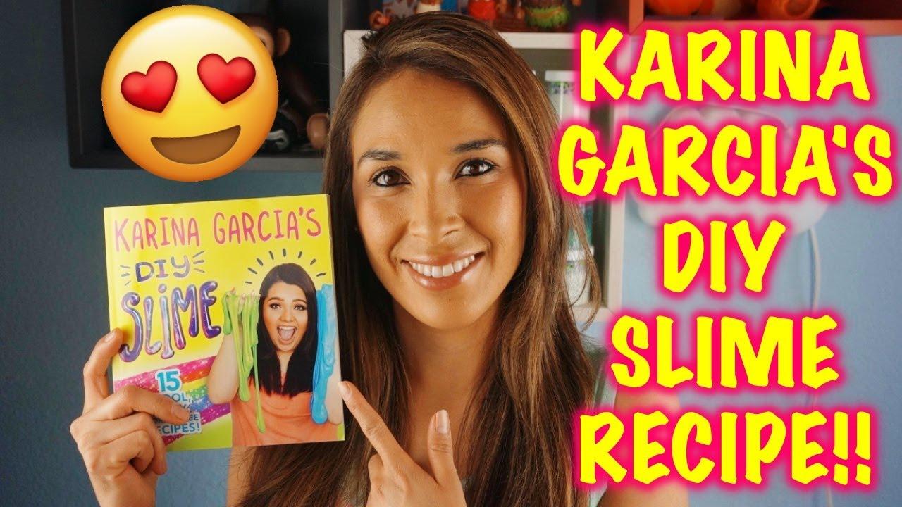 Testing Karina Garcia Slime Recipes!! How To Make Fluffy Slime Without  Borax!!