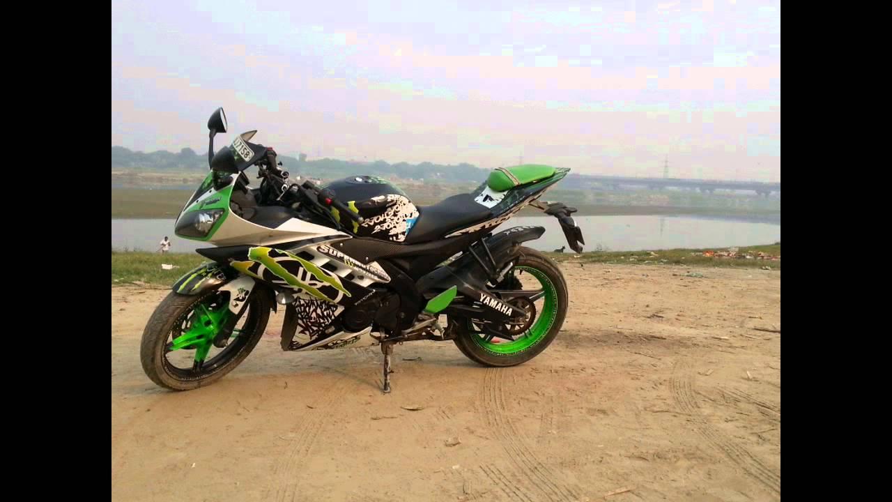 Yamaha R15 modified monster(DHANSU BROzZ)
