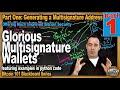 How to do a Multisignature Bitcoin Transaction - YouTube