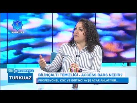 Turkuaz - Rumeysa Zügül    Bilinçaltı Temizliği - Access Bars Nedir?   Ayşe Acar