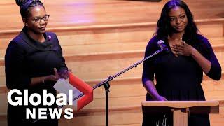 Elijah Cummings' daughters deliver powerful eulogies: