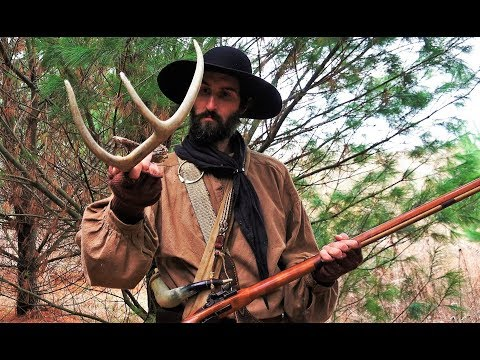 Primitive Longrifle Flintlock Muzzleloader Deer Hunting - 2018