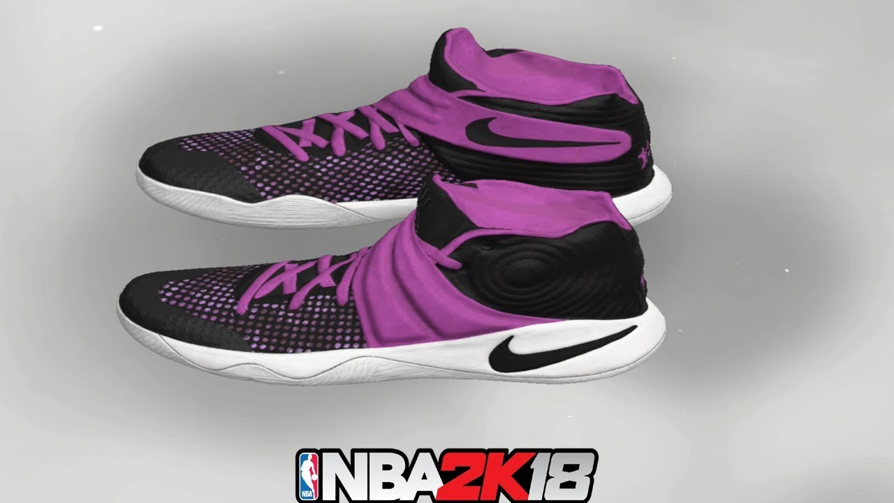 e319e8d86e1 NBA 2K18 Shoe Creator ⋆#NBA2K18⋆ Kyrie 2 Grape Jelly 👟🔥🔌 - YouTube