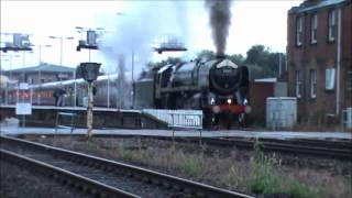 RETURN - THE ROYAL DUCHY 70013 Oliver Cromwell @ Exeter St Davids 5/8/2012
