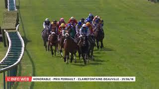 Vidéo de la course PMU PRIX PERRAULT