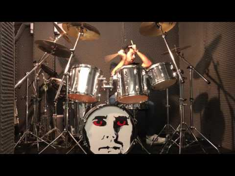 Queen action this day drum cover
