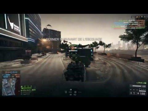 Battlefield 4  Anti AIr 58-0 Dawnbreaker with Anti Air LAV AD HD