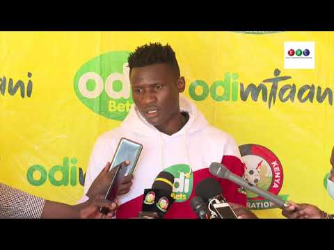 As players we will give a good fight - Michael Olunga, Harambee Stras Captain
