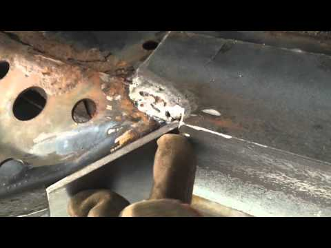 2000 Toyota 4Runner Frame Rot Repair – Welded