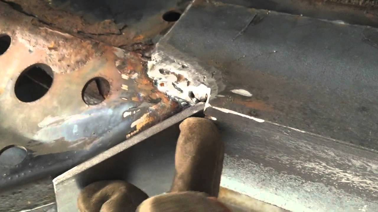2000 Toyota 4runner Frame Rot Repair Welded Youtube
