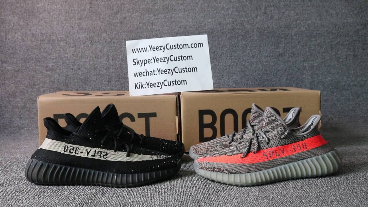 Yezzy Boost 350 Sply V 2 Bred Black Red from from yeezysupplys