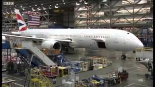 MEGA FABRICA AVION COMERCIAL BOEING 787 BRITISH AIRWAYS