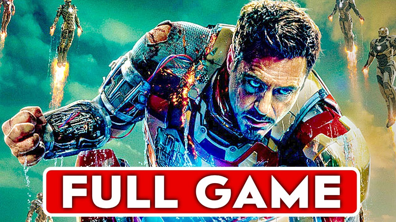 Download IRON MAN 2 Gameplay Walkthrough Part 1 FULL GAME [1080p HD] - No Commentary