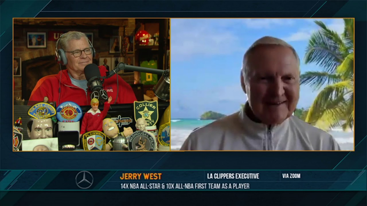 Jerry West on the Dan Patrick Show (Full Interview) 05/28/20