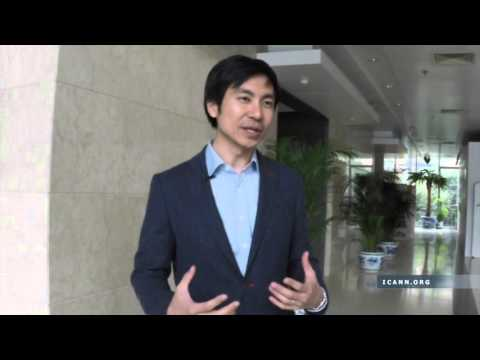 Interview with Jia-Rong Low on ICANN Day in China