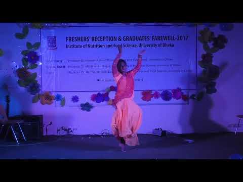 Freshers' reception-2017, INFS,DU  Dnce (shila)
