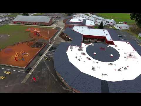 Preferred Commercial Roofing Project Feature: Orting Primary School