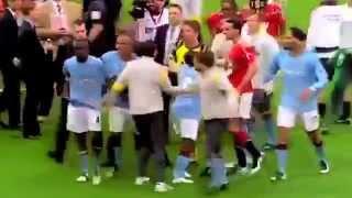 Mario Balotelli Fight Vs Rio Ferdinand