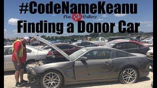 Finding a Donor Mustang GT Coyote Motor isn't as easy as it seems! #CodeNameKeanu