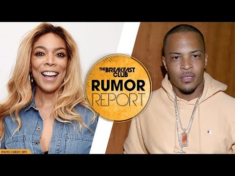 "T.I. Hopes Wendy Williams' Bikini Pics Will Make Her Less ""Malicious & Vindictive"""