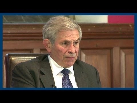 U.S. Government Shut Down Failure   Paul Wolfowitz   Oxford Union
