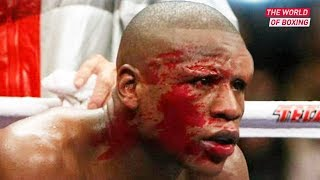 5 TIMES Floyd Mayweather almost been KNOCKED out