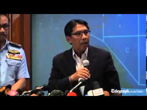 Search for missing Malaysian Airlines jet is widened: full press conference