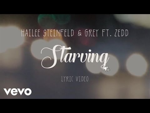 Hailee Steinfeld, Grey - Starving (Lyric Video) ft. Zedd Thumbnail image